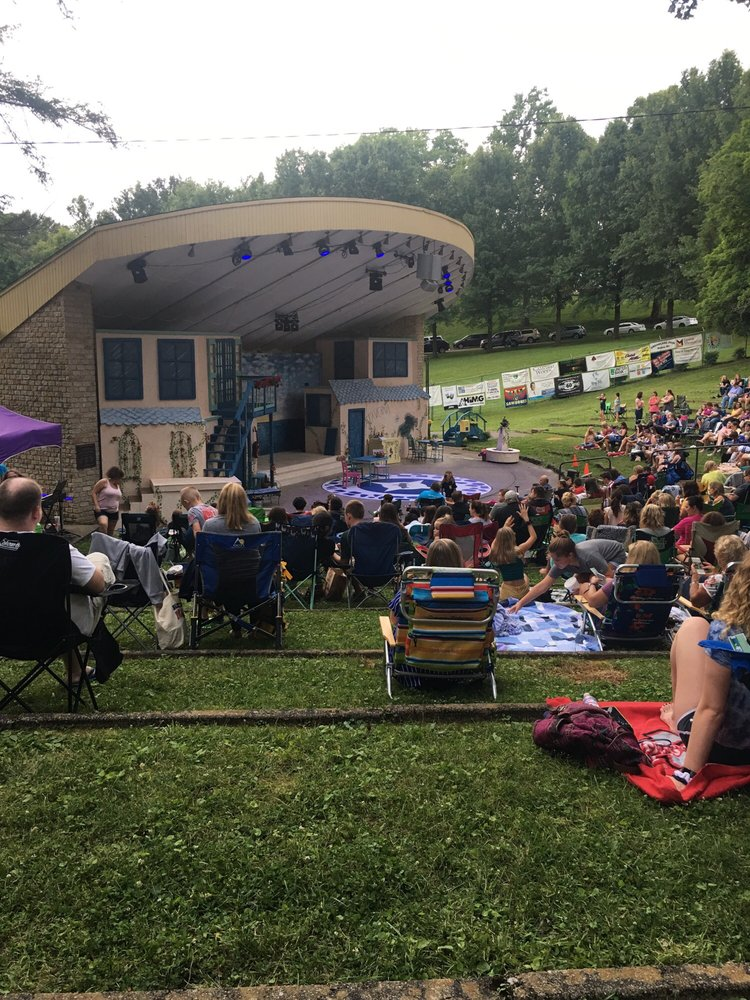 Ritter Park Amphitheater: 1310 8th Ave, Huntington, WV
