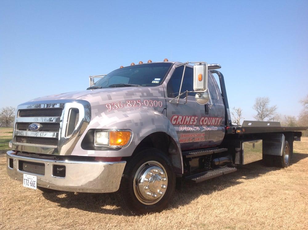 Grimes County Wrecker Service: 1511 W Washington Ave, Navasota, TX