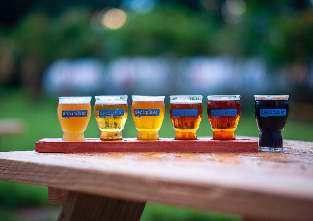 Decipher Brewing: 1740 Broadway St, Charlottesville, VA