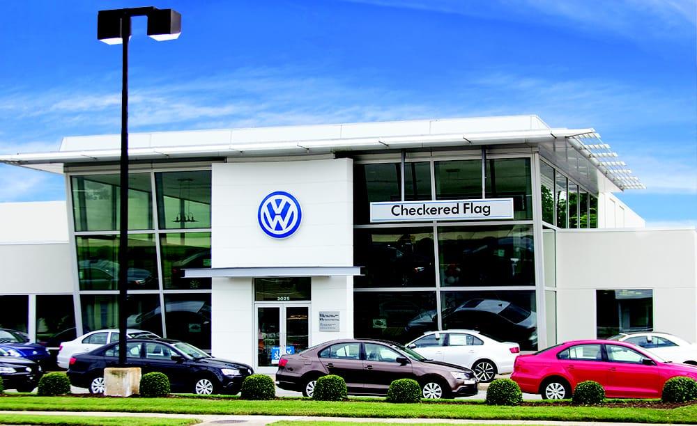 Checkered Flag Volkswagen