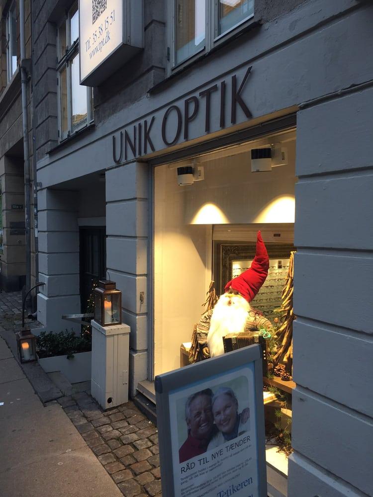 77eb671d4f21 Unik Optik - Brillebutik og optikere - Nordre Frihavnsgade 10 ...