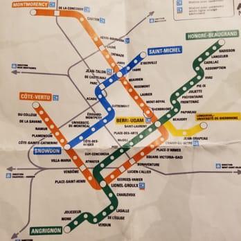 Stcum Metro Map.Stm 81 Fotos Y 70 Resenas Transporte Publico 800 Rue De La