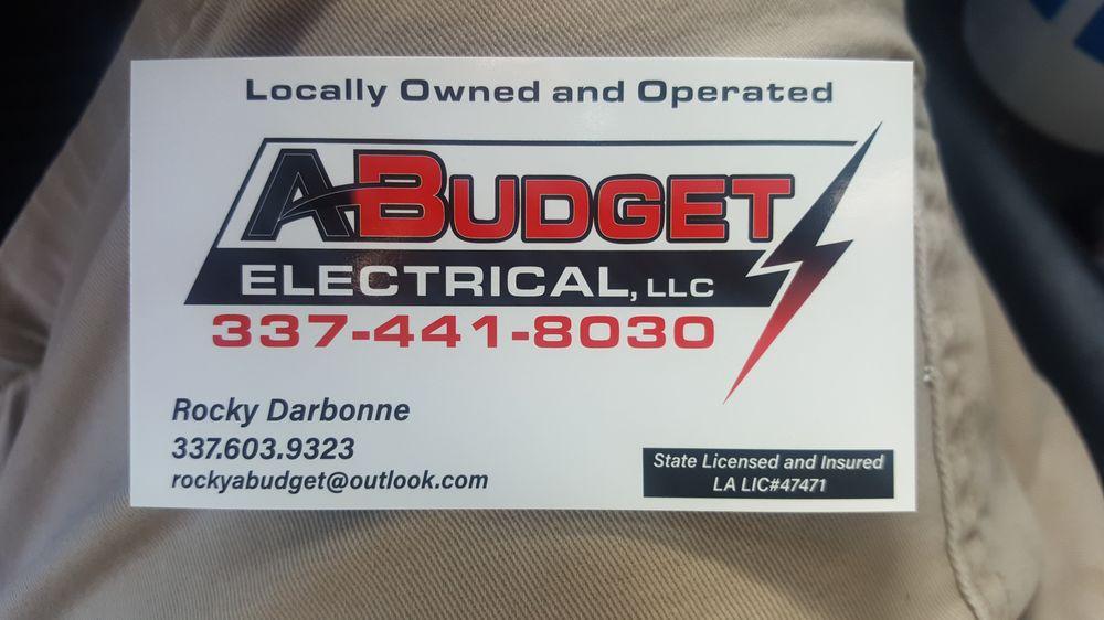 A-Budget Electrical: Crowley, LA
