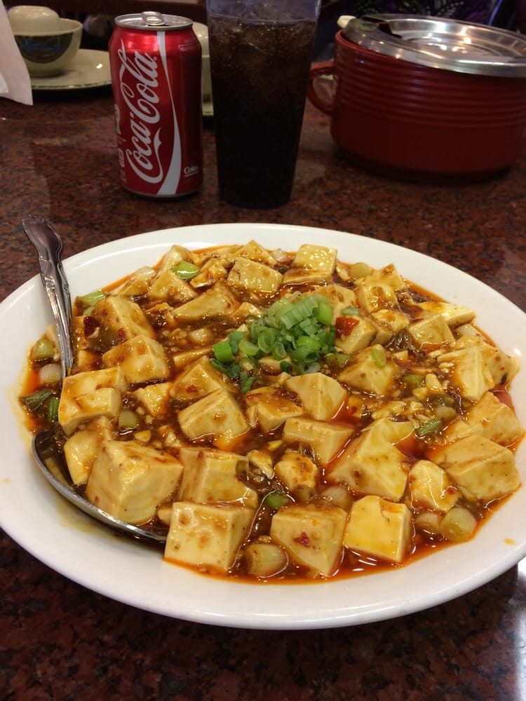 Mapa Tofu Comes With Vegetables But They Mix This Oily