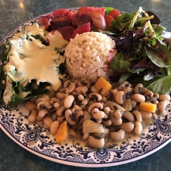 Photo Of Potala Vegan Restaurant Albany Ca United States Large Lunch Plate