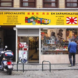 Photo de Super Dragon Toys - Bruxelles, Belgique. Entrée du magasin 310cd4647792