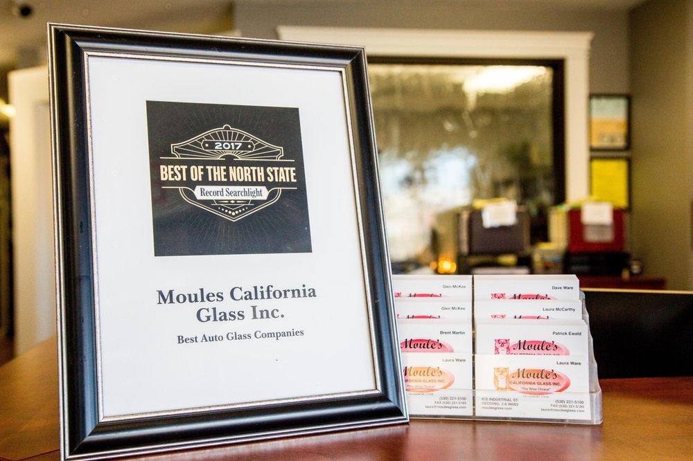 Moule's California Glass: 815 Industrial St, Redding, CA