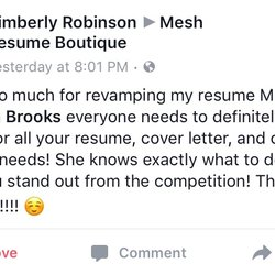 Photo Of Mesh Resume Boutique