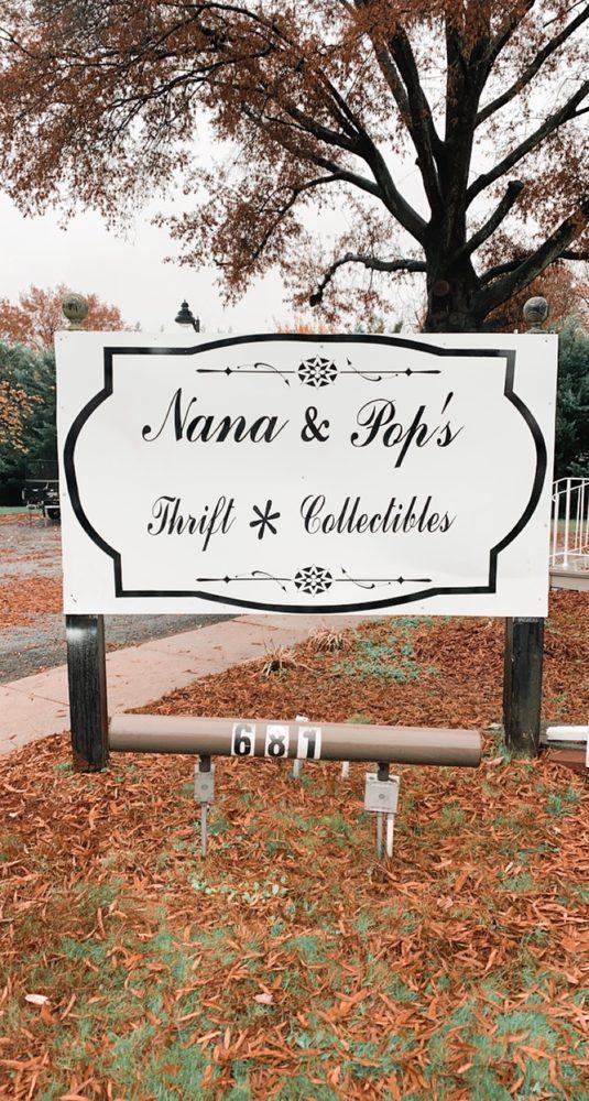 Nana & Pop's Thrift and Collectibles: 681 Monroe St, Herndon, VA