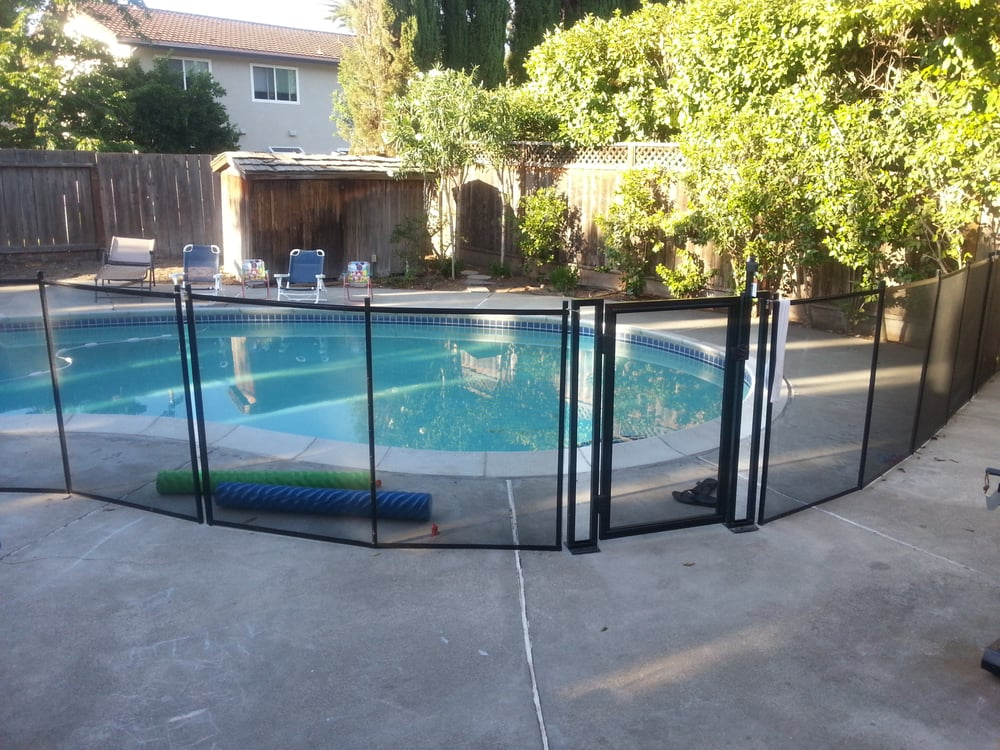Pool Fence Cures Anxiety In Our Place Of Relaxation Yelp