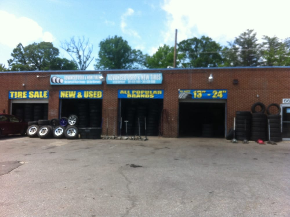 Advanced Used Tire: 6607 Suitland Rd, Morningside, MD