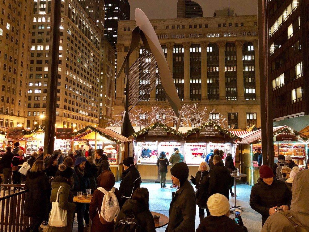 Christkindlmarket Chicago: 50 W Washington St, Chicago, IL