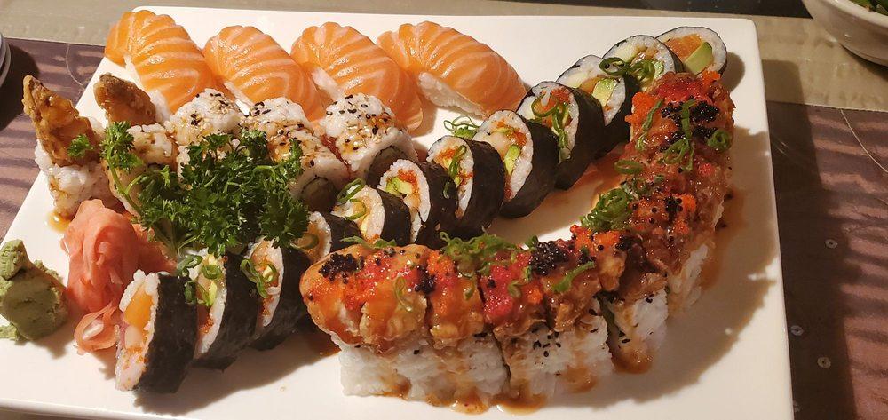 Rain Japanese Sushi Bar & Thai: 5267 Park St N, St. Petersburg, FL