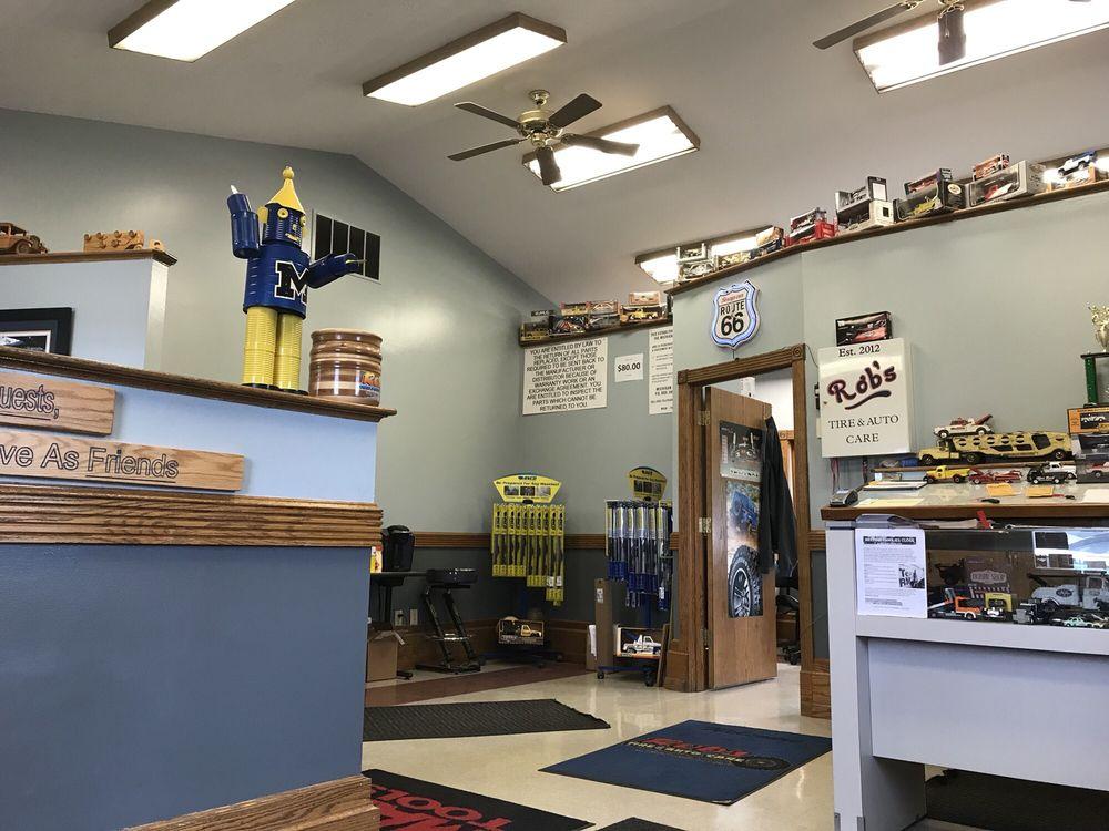 Rob's Tire & Auto Care: 24069 W McGillen Ave, Mattawan, MI