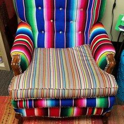 Photo Of Tonyu0027s Upholstery   St Paul, MN, United States. Funky Serape Chair
