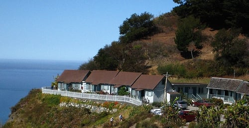 All of the lucia lodge cabins rooms yelp for Cabine big sur california