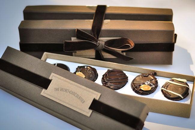 Food from The Velvet Chocolatier