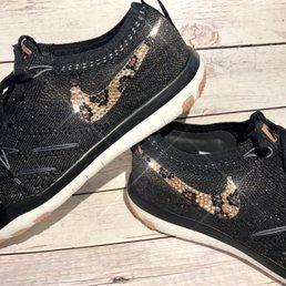 innovative design 44412 4f378 Photo of DAM Fancy Creations - Sugar Hill, GA, United States. Bling Nikes