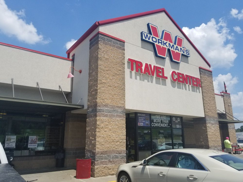 The Workman's Travel Center: 3202 Pence Ln, Ozark, AR