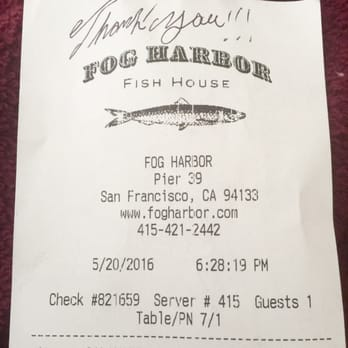 Fog Harbor Fish House - 8185 Photos & 5550 Reviews - Seafood - Pier
