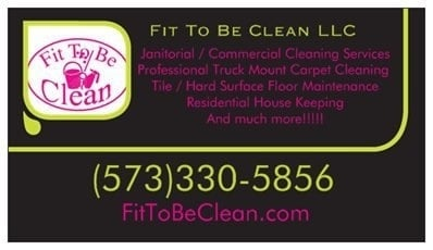 Fit To Be Clean, LLC: 121 Lisa Ln, Bismarck, MO