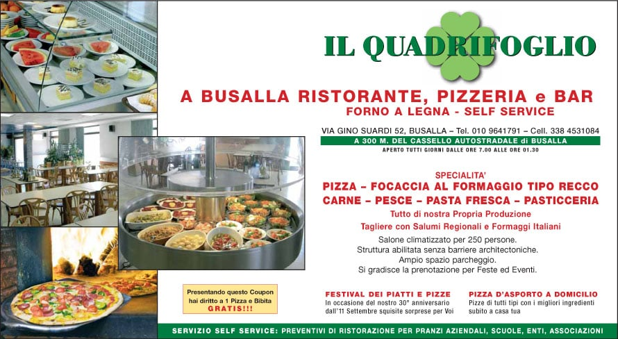 Pizzeria Quadrifoglio