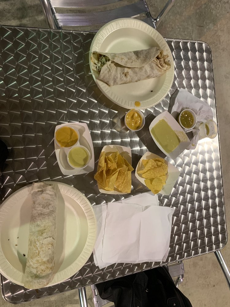 "Food from Tacos ""El Compa"""