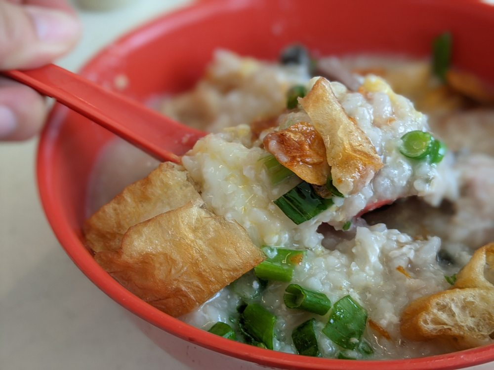 Johor Road Boon Kee Pork Porridge Singapore