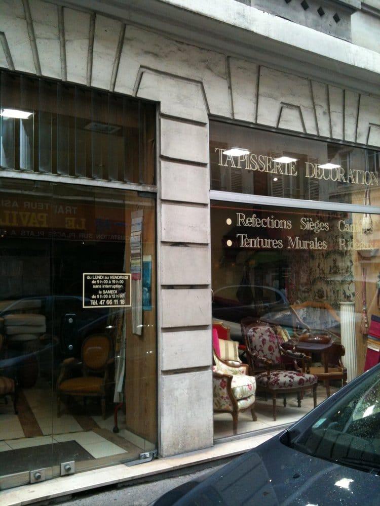 Tapisserie d coration m belpolstring 89 rue de l vis - Cours de tapisserie d ameublement paris ...