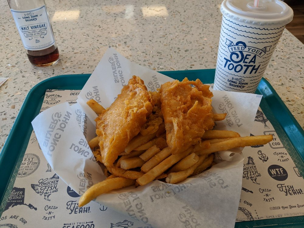 Long John Silver's: 1077 N Bridge St, Chillicothe, OH