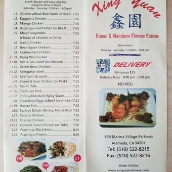 Photo Of Xing Yuan Chinese Restaurant Alameda Ca United States Saw A