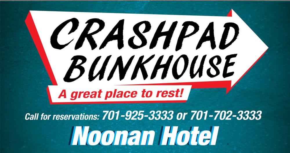 Crashpad Bunkhouse: 302 S Main St, Noonan, ND
