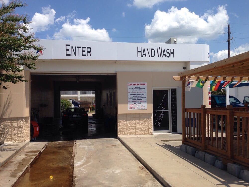 Car Spa Houston: They've Rented An Old Car Wash From The Shell Station