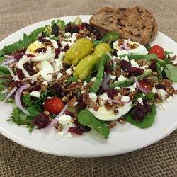 Photo Of Amish Door Restaurant   Wilmot, OH, United States. Cranberry Pecan  Salad