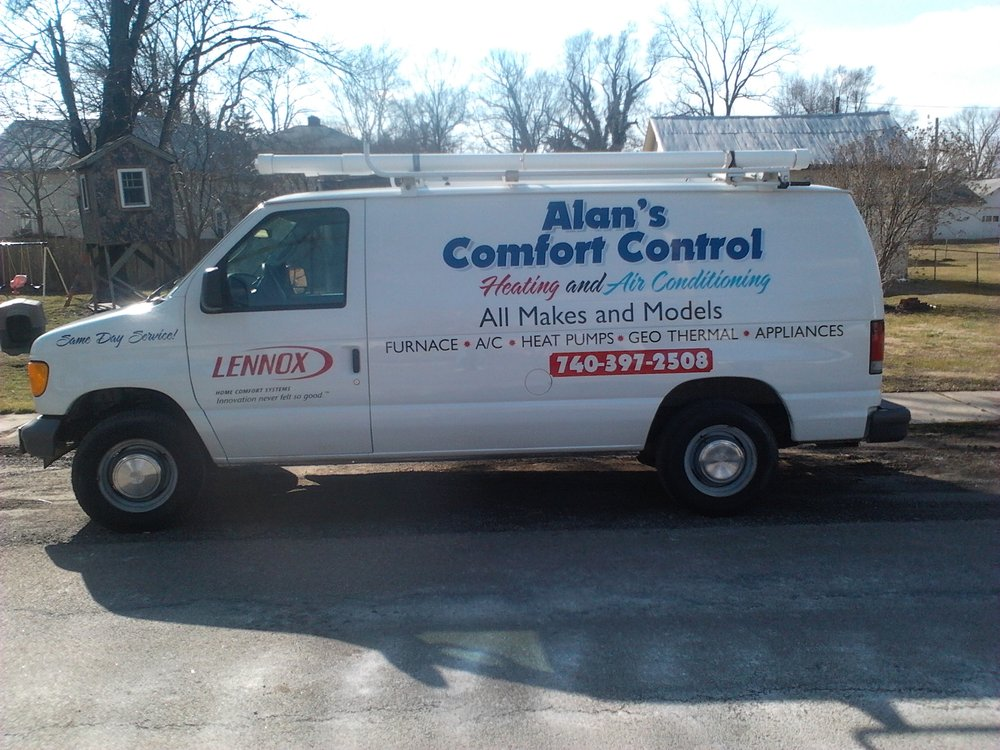 Alan's Comfort Control Heating & Air Conditioning: 21830 Newcastle Rd, Gambier, OH