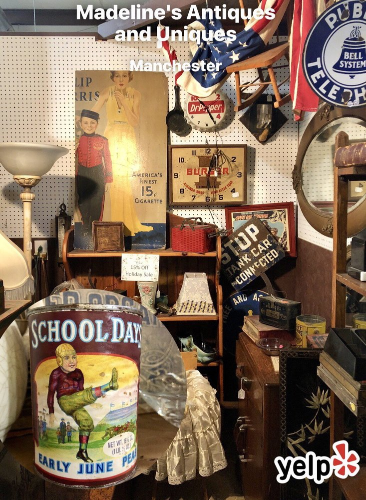 Madeline's Antiques and Uniques: 6107 Murfreesboro Hwy, Manchester, TN