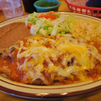 Photo Of El Patio Mexican Restaurant   Canyon, TX, United States. Chili  Relleno