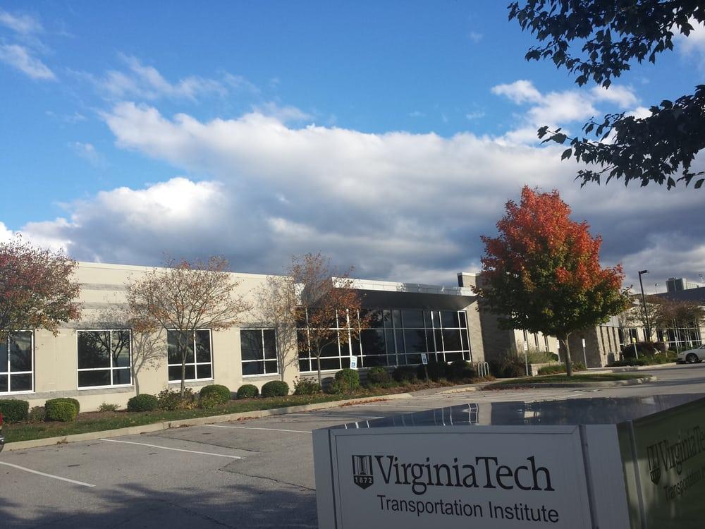 VIrginia Tech Transportation Institute: 3500 Transportation Research Plz, Blacksburg, VA