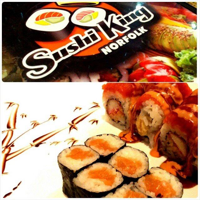 Sushi King: 420 Monticello Ave, Norfolk, VA