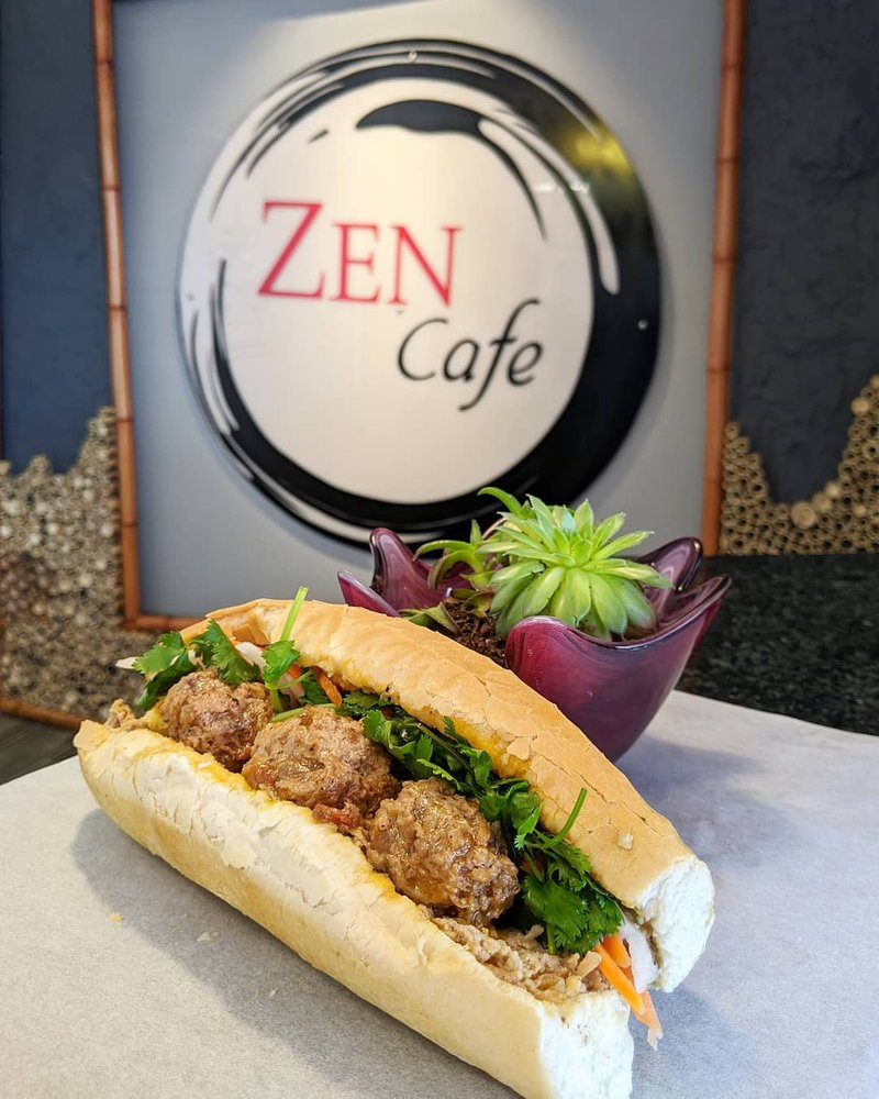 Food from Zen Cafe