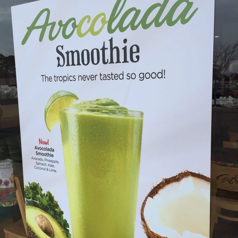 Tropical Smoothie Cafe Avocolada Recipe
