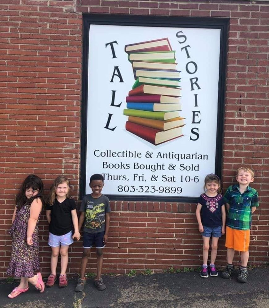 Tall Stories Book and Print Gallery: 164 S Cherry Rd, Rock Hill, SC
