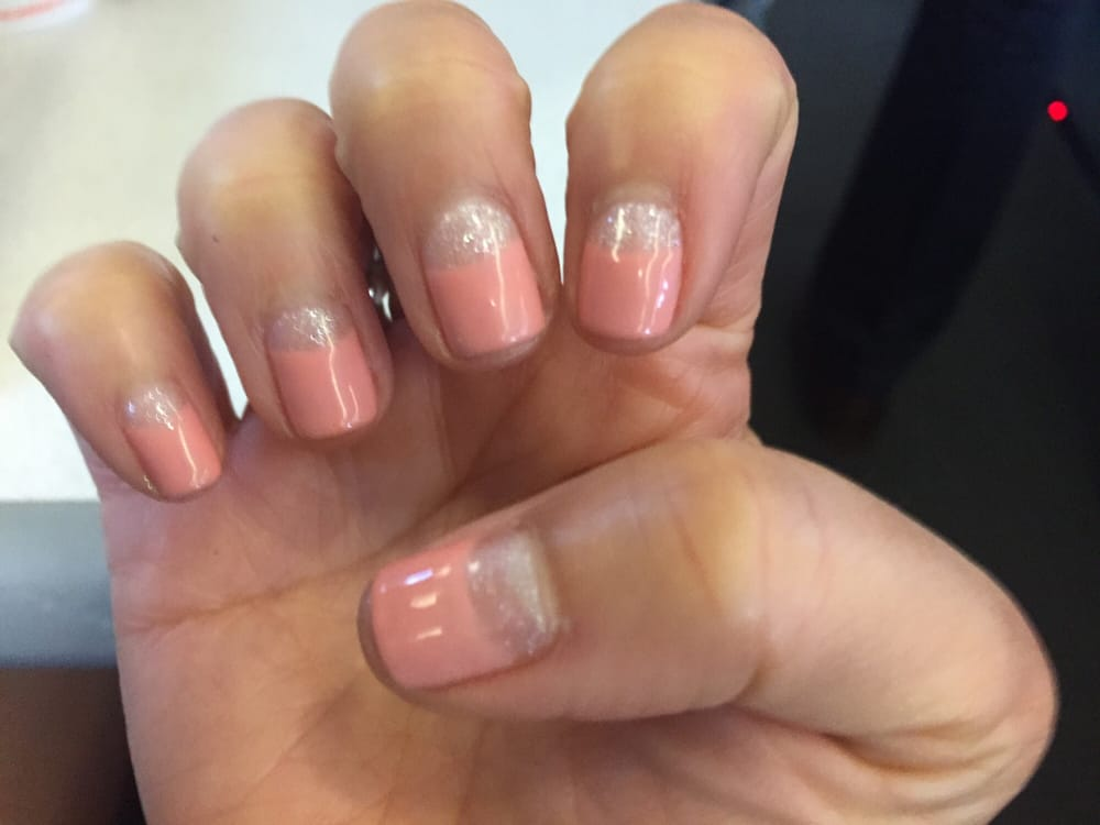 Amazing Deep French manicure by Julie - Yelp