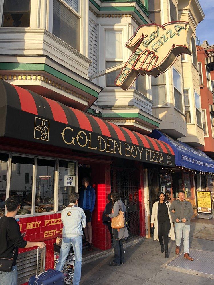 Golden Boy Pizza, San Francisco - HomeShare