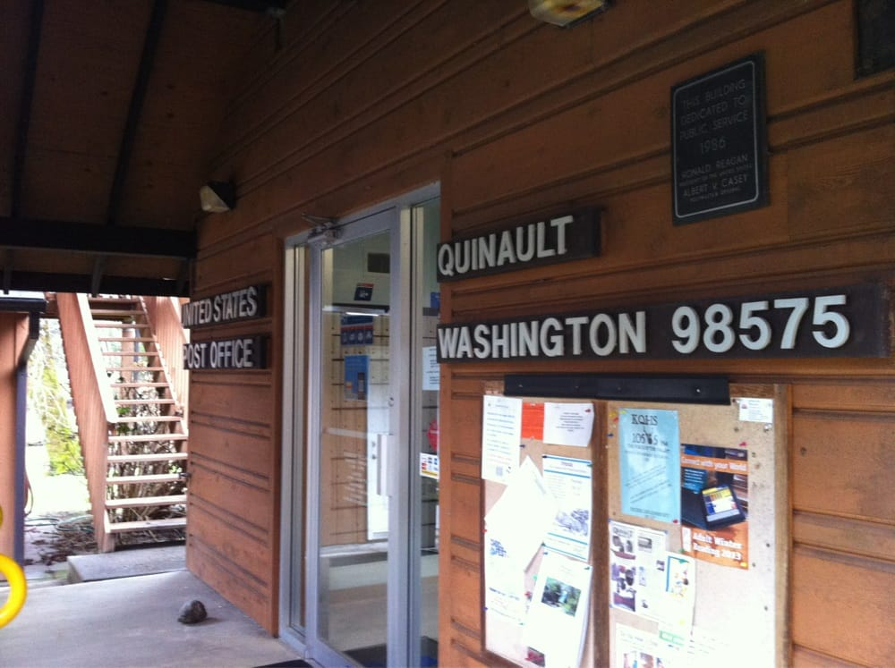U S Post Office: 518 S Shore Rd, Quinault, WA