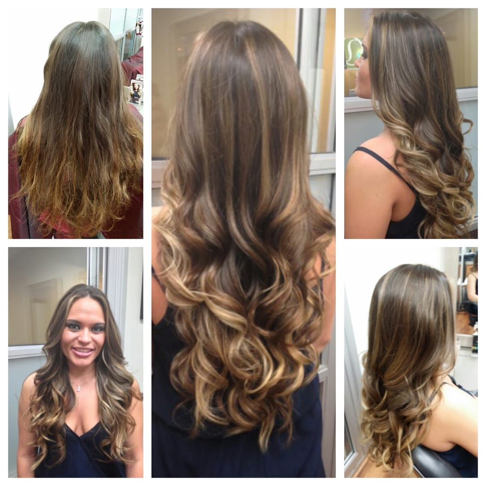 Flamboyage highlight with ombre pieces yelp - Les differents blonds ...