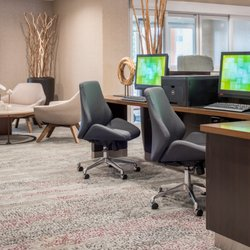 Photo Of Courtyard Marriott Portland North Or United States Lobby
