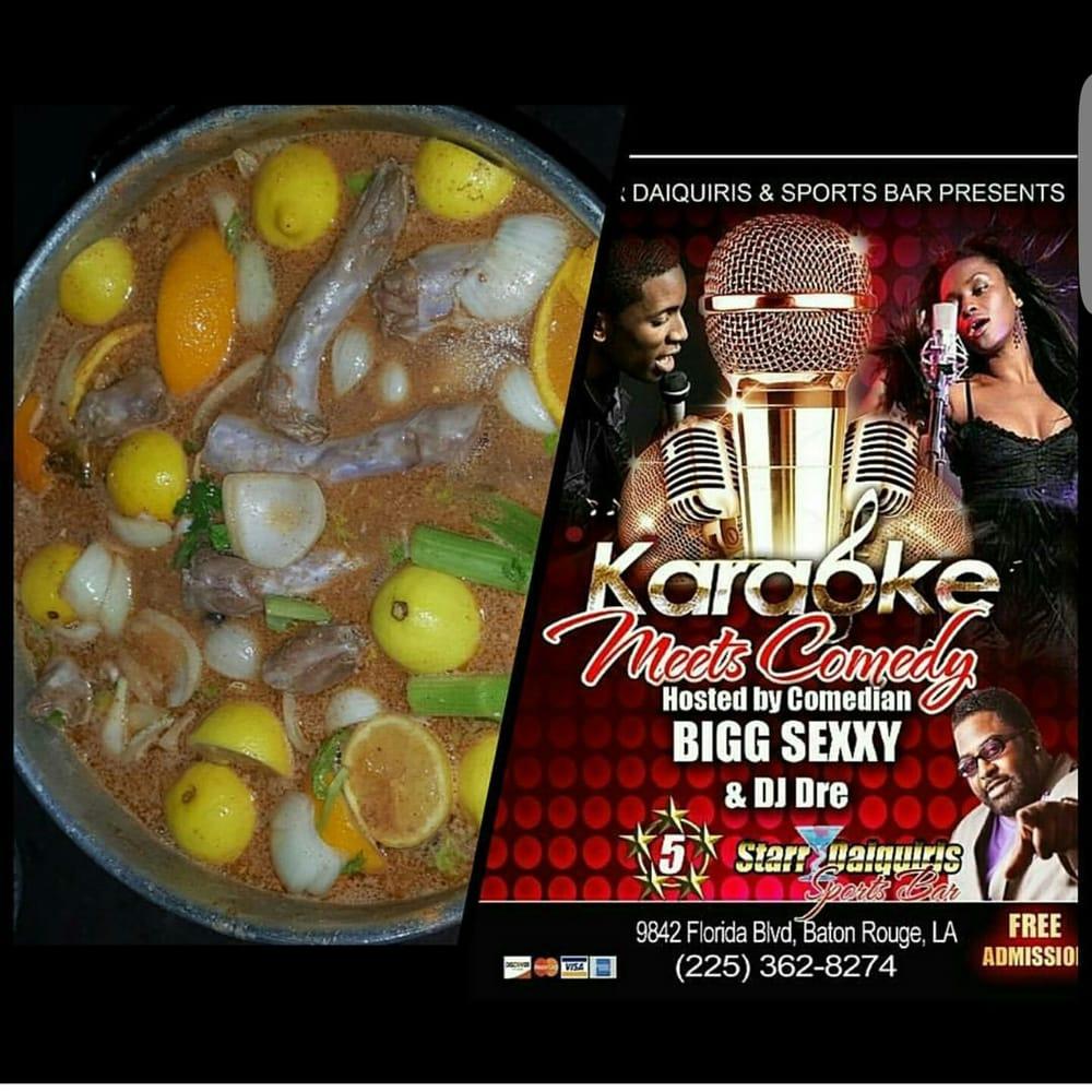 5 starr daiquiri and sports bar: 9842 Florida Blvd, Baton Rouge, LA