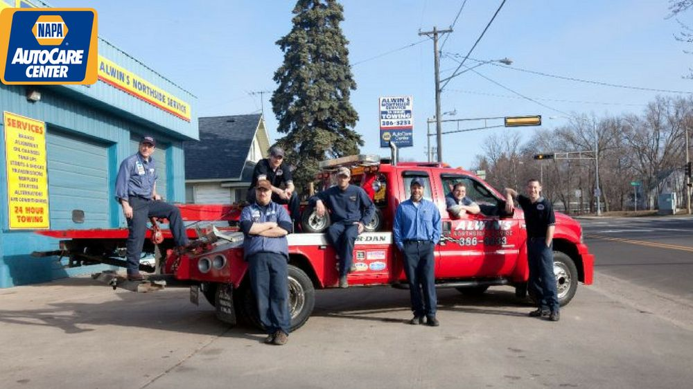 Alwin's Northside Service & Tire: 413 6th St N, Hudson, WI