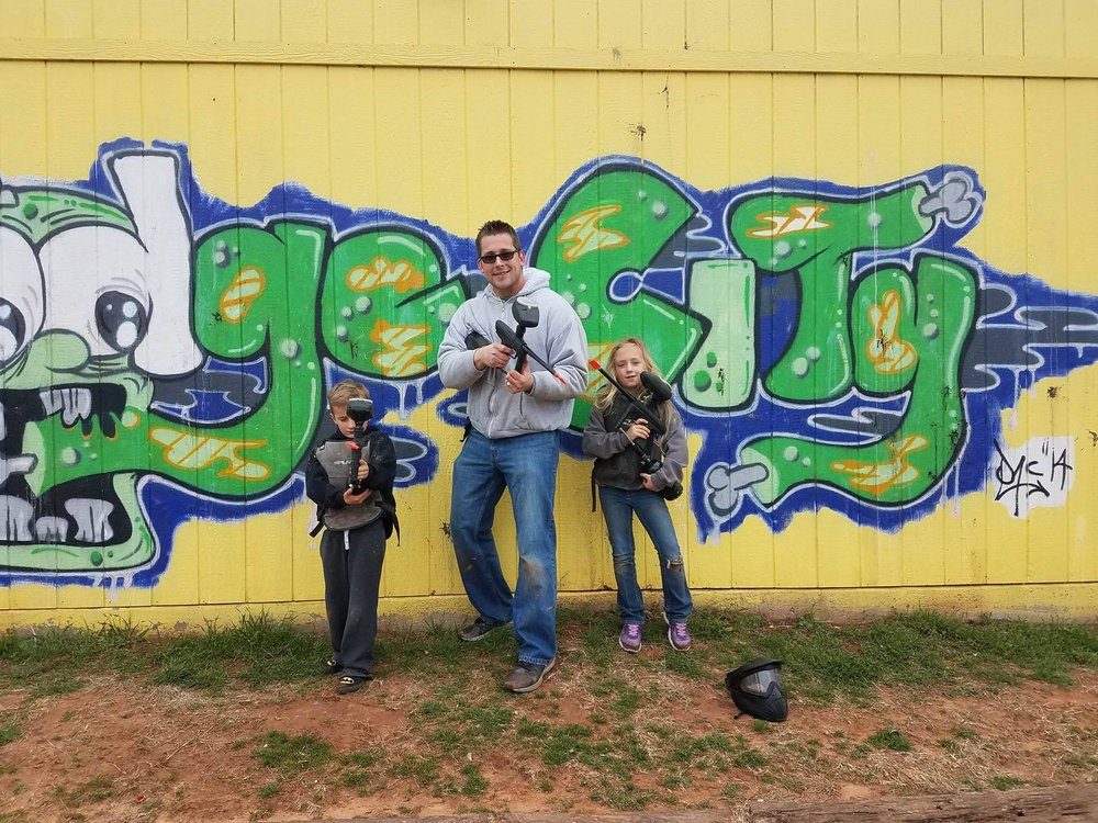 Dodge City Paintball and Laser Tag: 16425 NW 150th St, Piedmont, OK